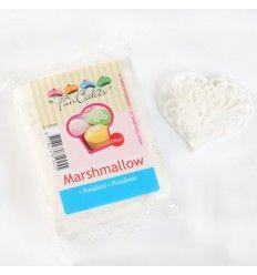 Fondant blanco sabor nubes Marshmallow 250gr