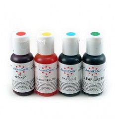 Pack colorantes en gel Americolor 4 colores