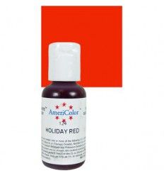 Colorante en gel Holiday Red Rojo Americolor 21 gr