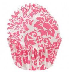 Cápsulas mini Damasco rosa, 100 ud