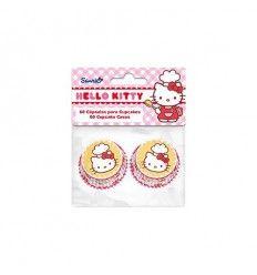 Cápsulas Hello Kitty tamaño mini 60 ud