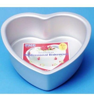 Molde corazón 20x7,5 cm