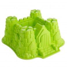 Molde silicona castillo