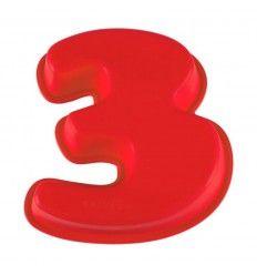 Molde silicona número 3