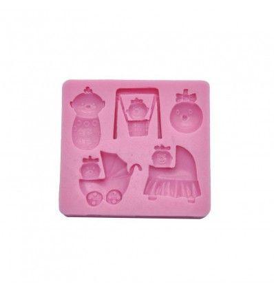 Molde silicona accesorio bebe