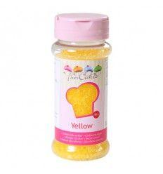 Azúcar color-Amarillo 80 gr