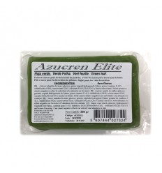 Fondant Azucren Elite Verde hoja 1kg