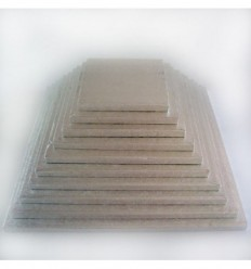 Base gruesa cuadrada 32,5 cm 10mm